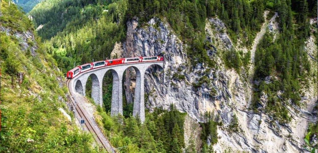 Alps 阿爾卑斯山 冰川快車-Glacier Express