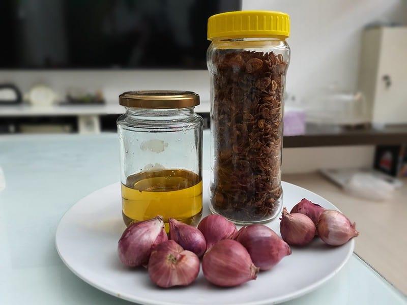 油蔥酥的秘訣 Fried Spring Onion
