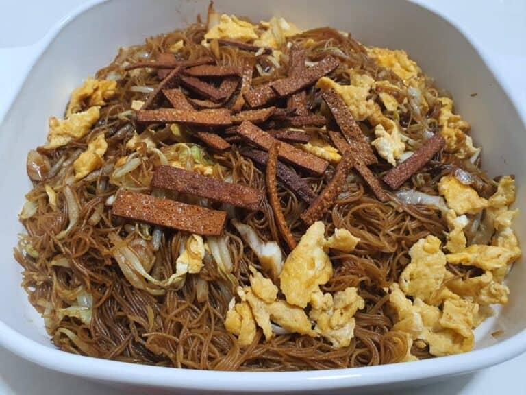 「中國魚翅」炒米粉 經濟實惠 能吃到很幸福了