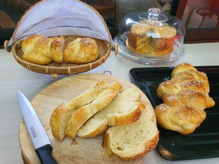 今天的酵母夠讚 我又補辦布里歐修麵包了