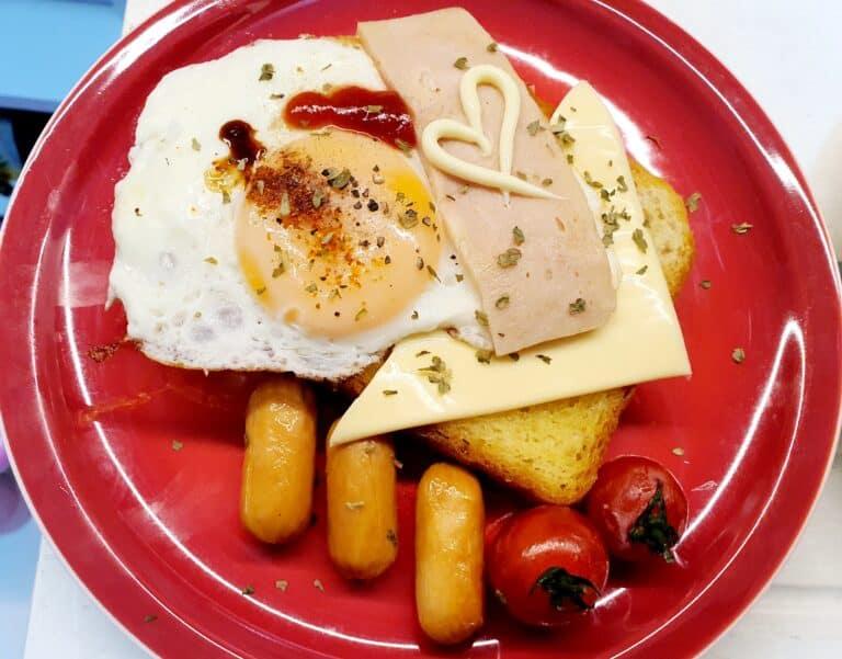 愛心早餐 就這樣可以了啦!