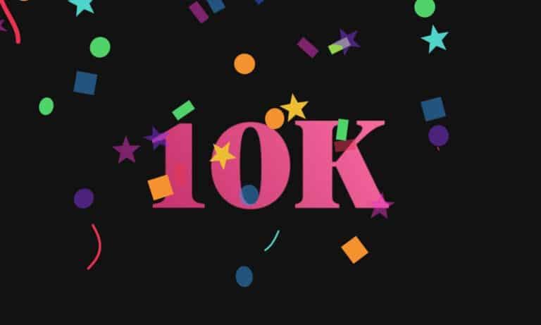 本站開台半年首破1萬閱覽次 感謝大家支持