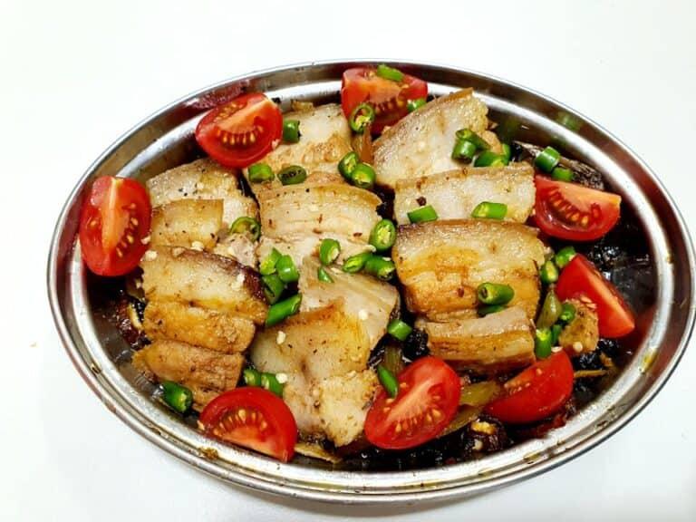 豆豉鯪魚三層肉!廚房永遠是生活中的戰場
