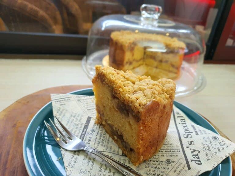 第三次烤蘋果奶酥蛋糕 還滿意 沒失望
